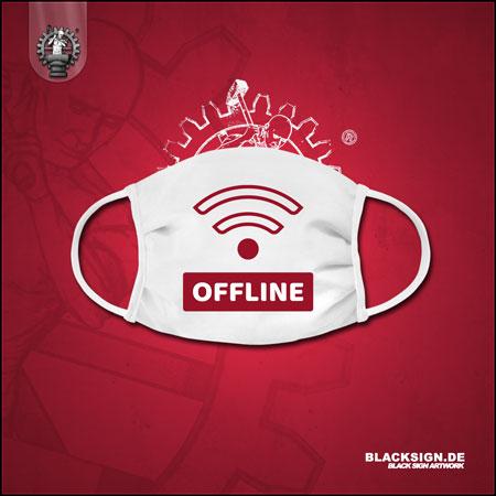 Offline - No Wifi gesichtsmaske